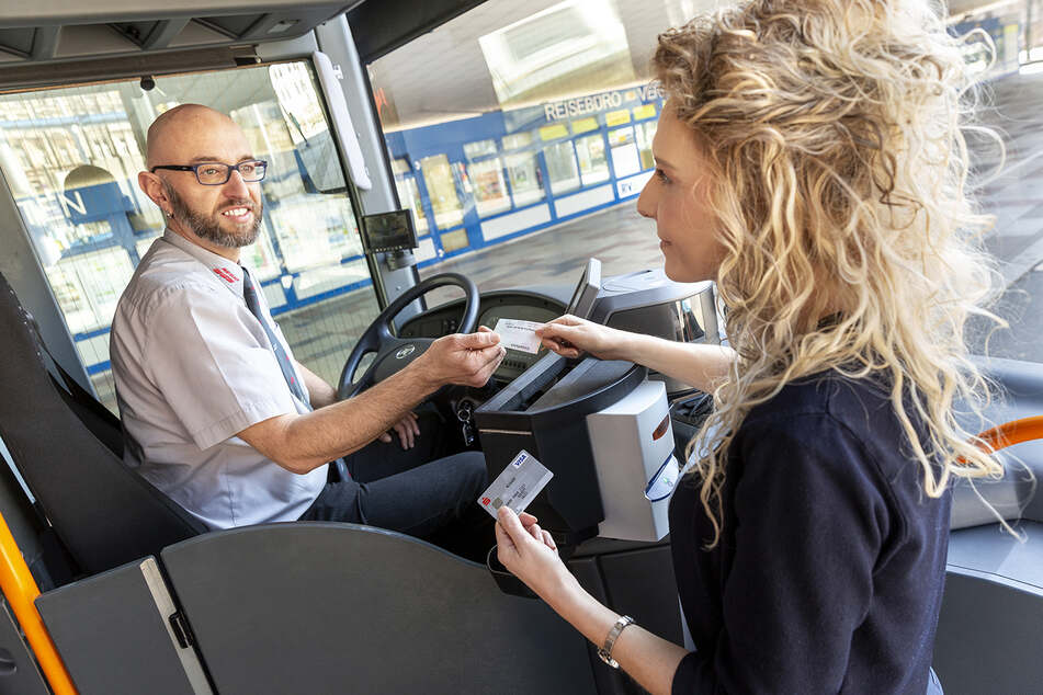 Hier könnt Ihr bald bargeldlos Busfahren
