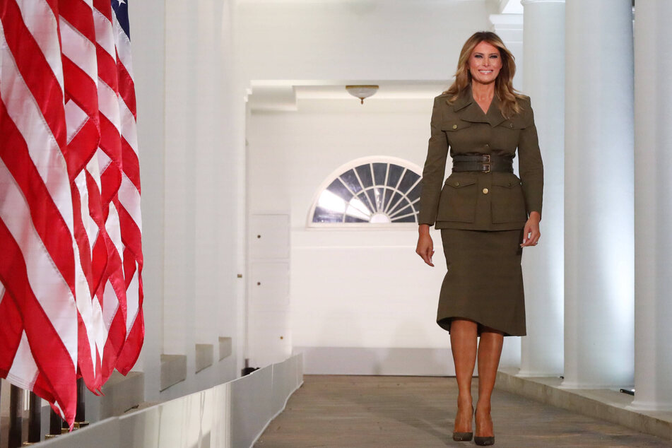 Melania Trump is still doing remodeling work on the White House