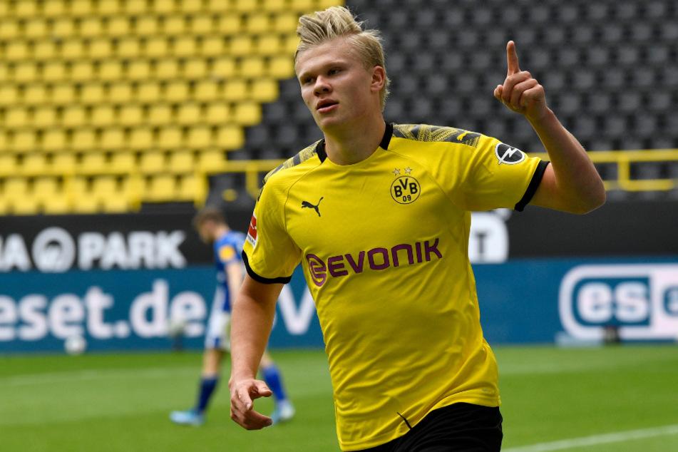 Erling Haaland (20) soll in der neuen Saison nicht mehr der einzige gelernte Mittelstürmer im BVB-Kader sein.