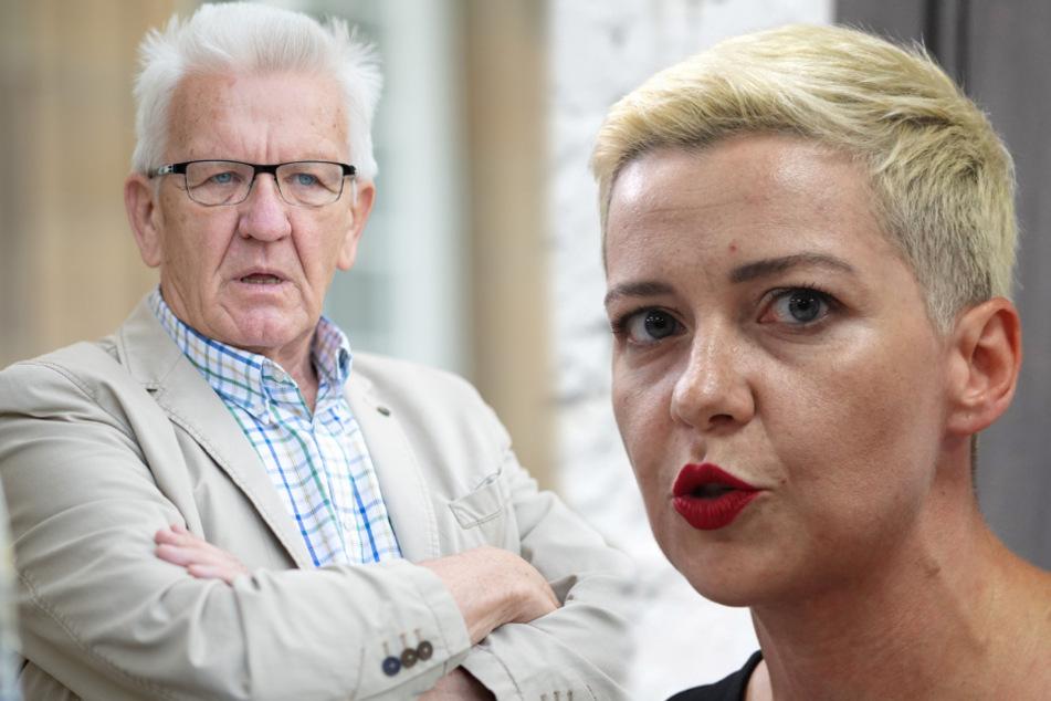 Winfried Kretschmann fordert Klarheit im Fall Maria Kolesnikowa