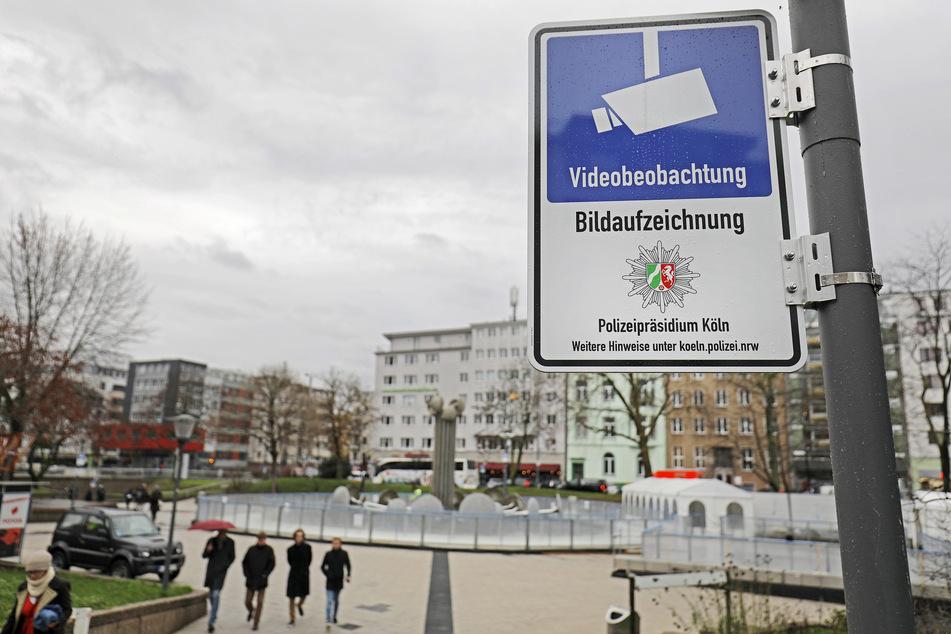 Seit Oktober 2019 steht der Ebertplatz unter Videoüberwachung (Archivbild).