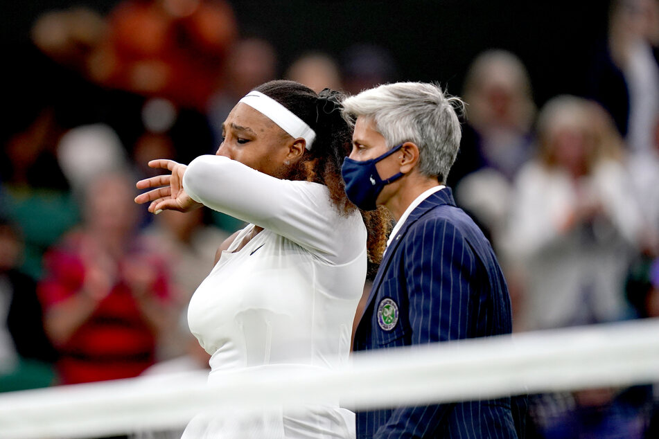 Unter Tränen verließ die Tennis-Legende letztlich das Spielfeld.