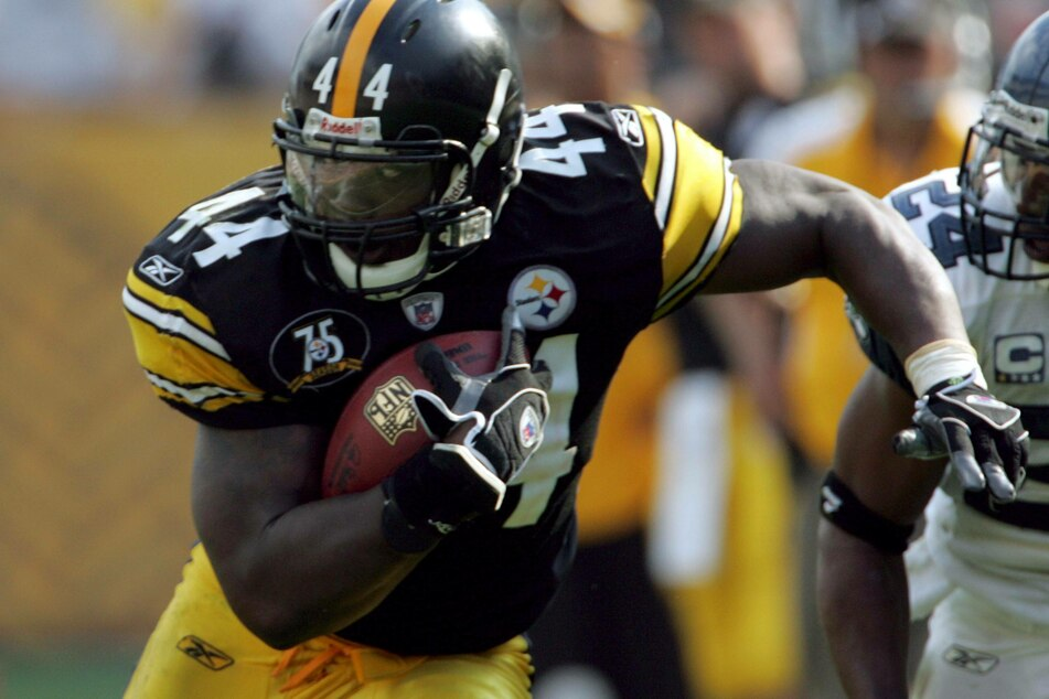 Najeh Davenport was a running back for the Pittsburgh Steelers from 2006-2008 (archive image).