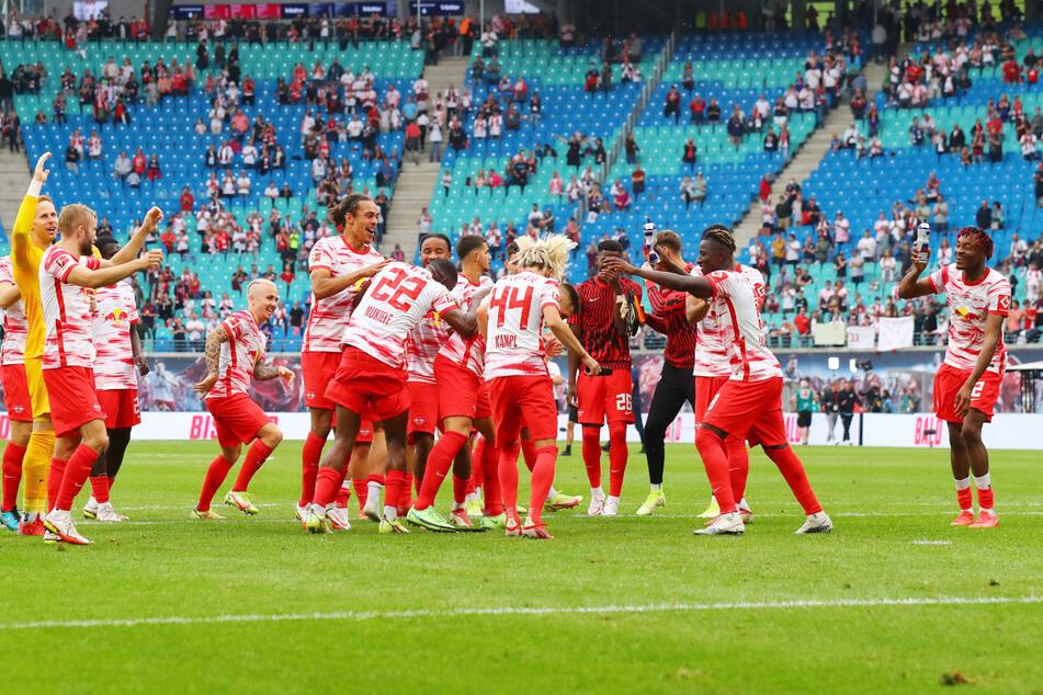 Die Bullen, hier beim 6:0-Sieg gegen Hertha BSC am Samstag, seien durchaus eine Bereicherung für die Bundesliga.