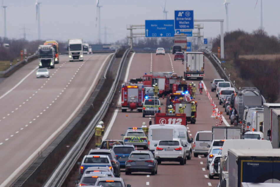 Schwerer Unfall auf A9 sorgte für kilometerlange Staus in Richtung Berlin