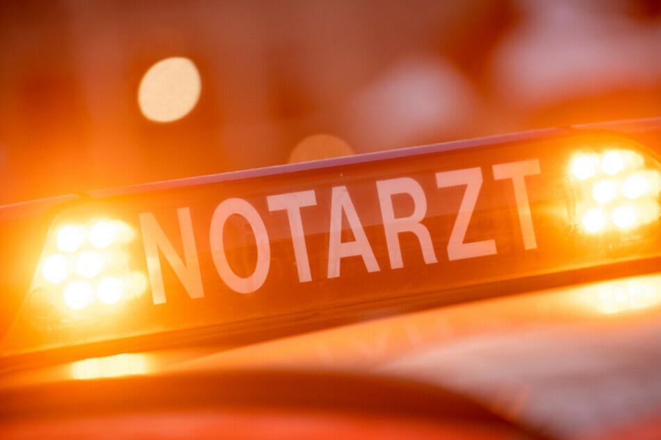 Biker bei Unfall mit Transporter in Mittelsachsen schwer verletzt