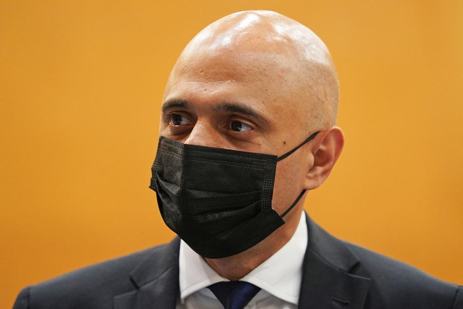 Der britische Gesundheitsminister Sajid Javid (51).