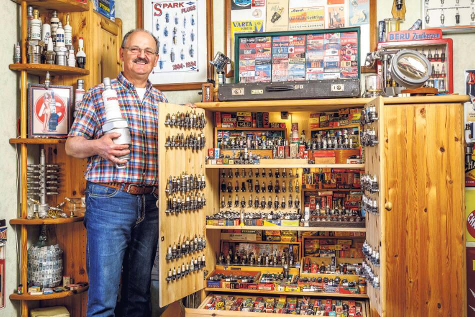 Als der Funke übersprang: Herr Schulze sammelt Zündkerzen