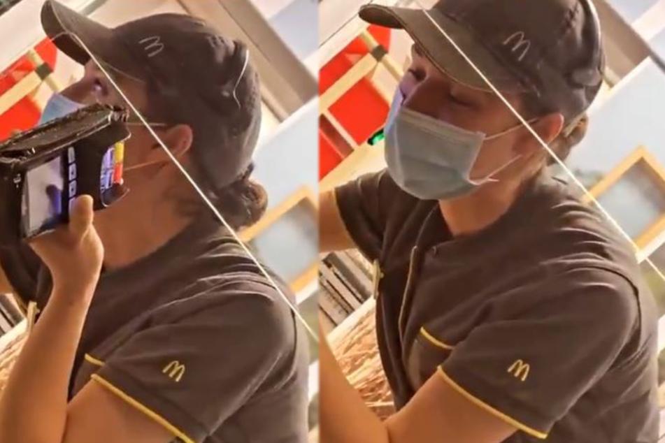 McDrive-Angestellte bricht einem Kunden mit dieser Aktion das Herz