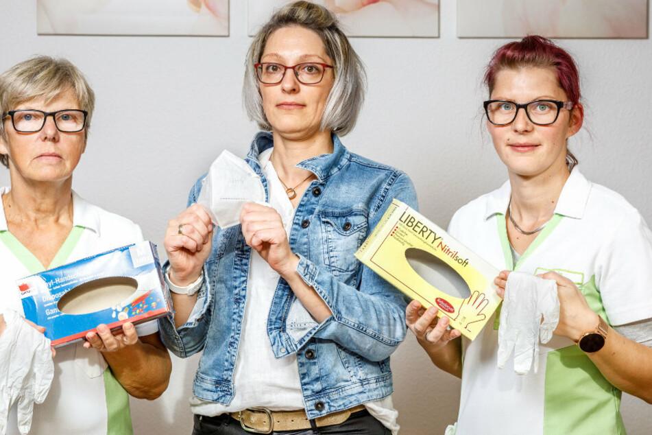 Dresden: Pflegedienst steht vor der Pleite: Handschuh-Preise explodieren!