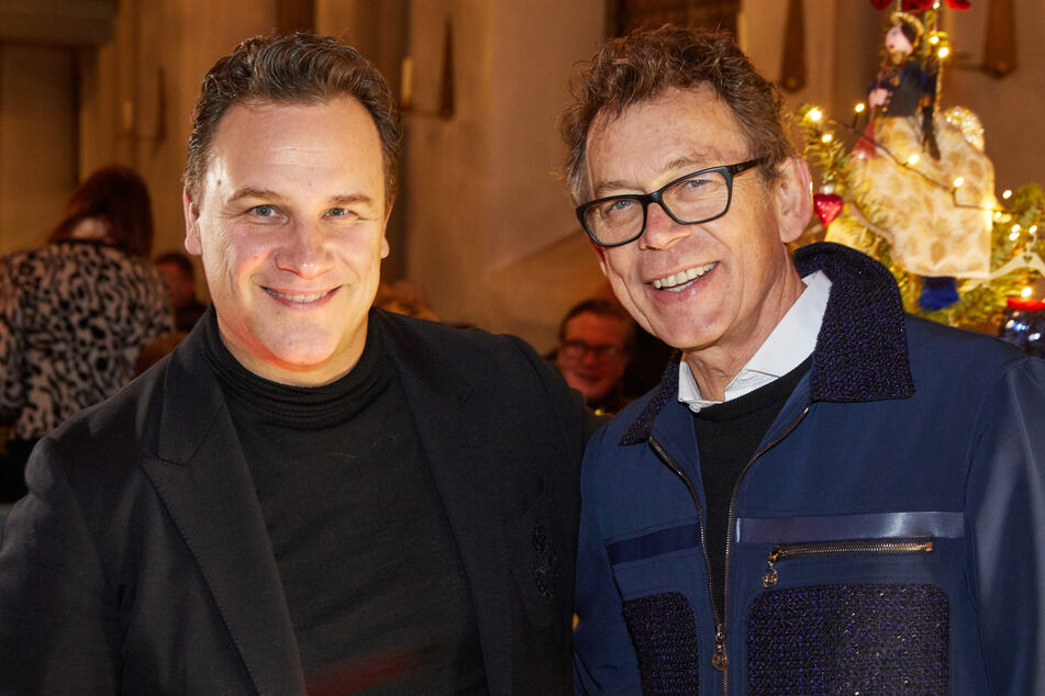 Guido Maria Kretschmer (l.) ist seit vielen Jahren mit seinem Frank zusammen.