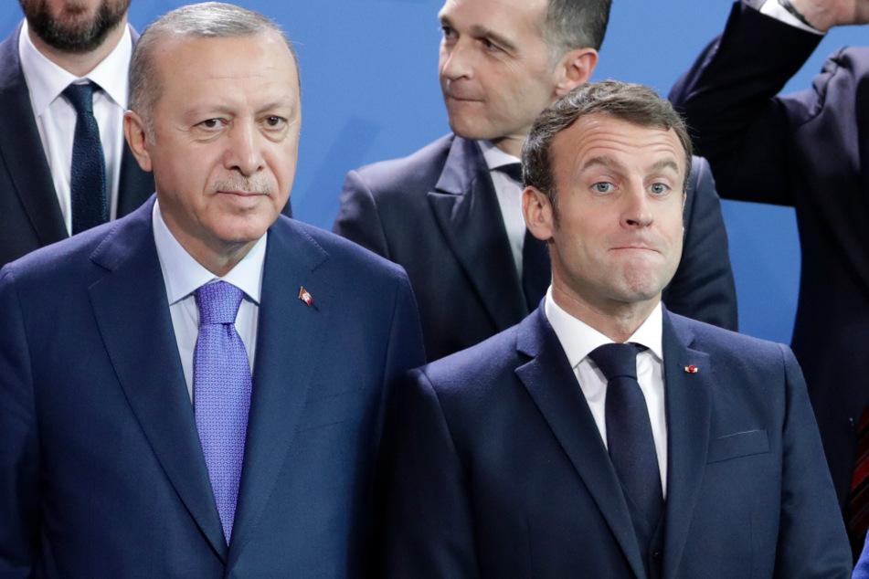 Erdogan beleidigt Macron! Frankreich reagiert sofort