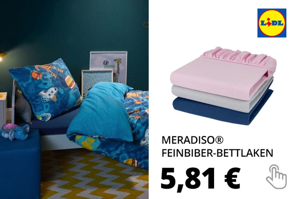MERADISO® Feinbiber-Spannbettlaken