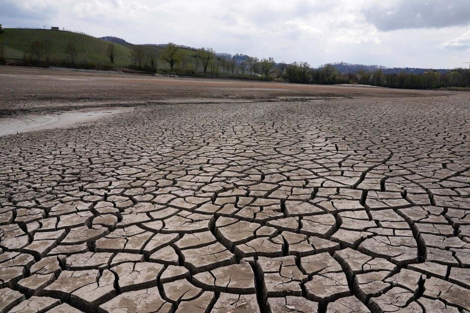 Wasser fast vollständig abgelassen: Breitenauer See wird saniert