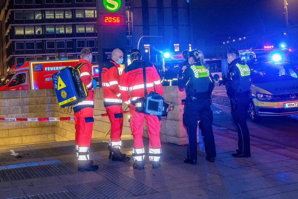 Massenschlägerei am Jungfernstieg: Eine Person musste wiederbelebt werden!