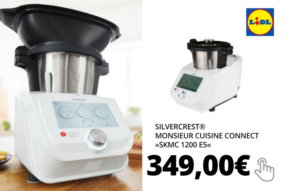 SILVERCREST® Monsieur Cuisine Connect