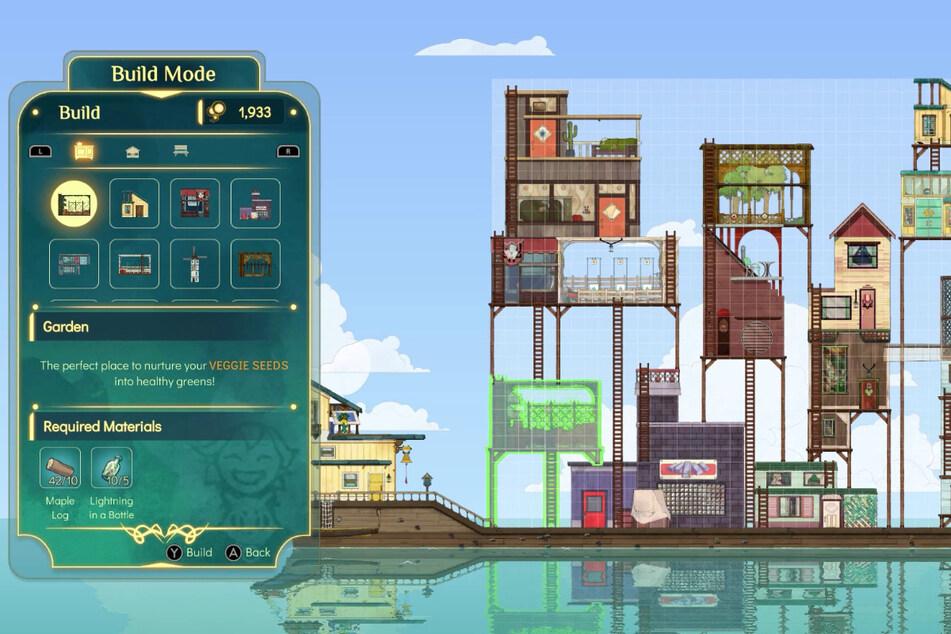 Euer Schiff nimmt im Laufe des Spiels ziemlich beeindruckende Dimensionen an. Unübersichtlich oder gar stressig werden die Crafting-Elemente allerdings nie.