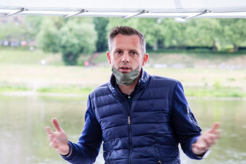 Flottensprecher Robert Körner (40) hält den Aufbau des Prossen-Anlegers in dieser Saison noch für möglich.