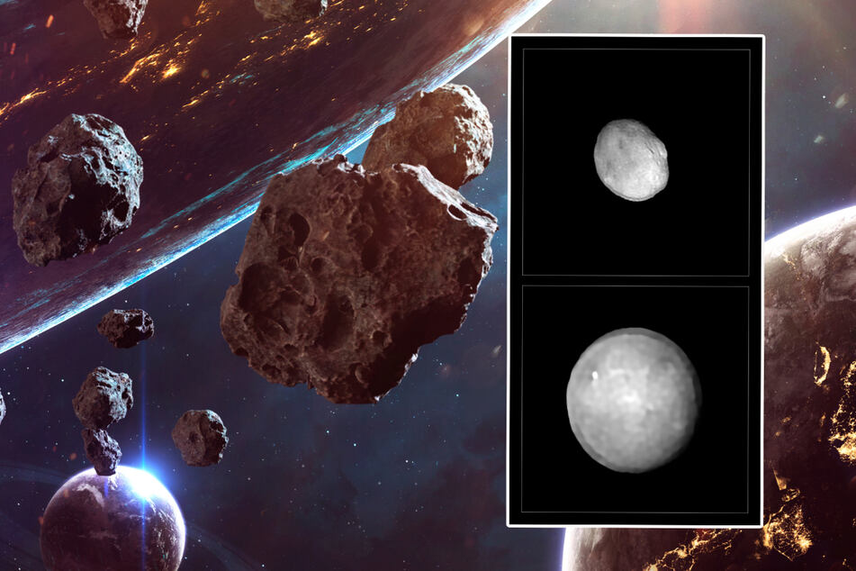 Sensationelle Fotos zeigen 42 riesige Asteroiden in unserem Sonnensystem