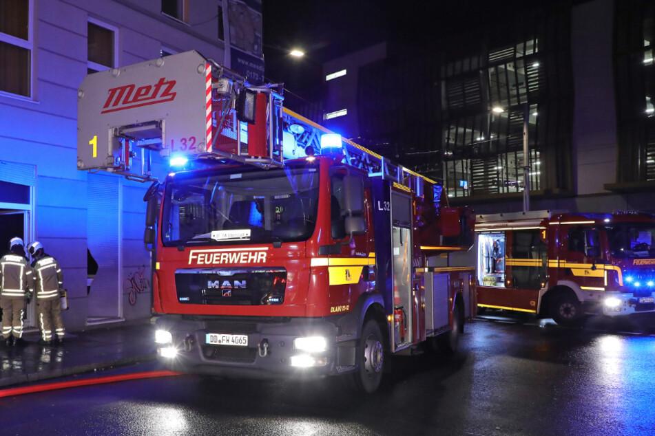 Dresden: Brenzlige Fest-Bilanz: Dresdens Feuerwehr hatte keine Feiertage