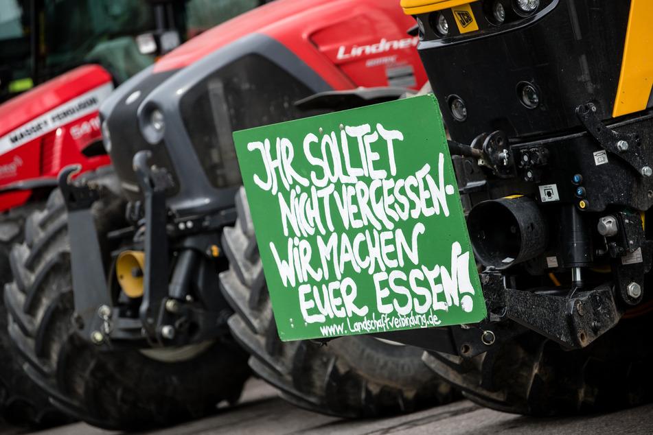 Anfang des Jahres hatten viele Bauern noch gegen Dumpingpreise protestiert. (Symbolbild)