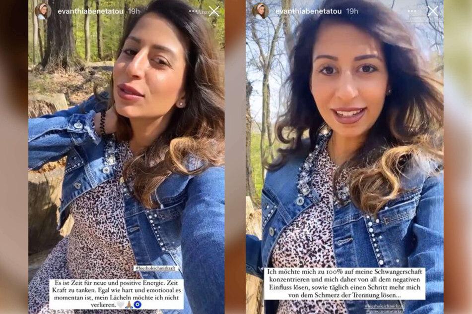 Eva Benetatou (29) ist im achten Monat schwanger und wurde kürzlich von Freund und Kindsvater Chris Stenz (31) sitzen gelassen. Bei Instagram gab sie ihren Fans ein Update zu ihrem Befinden.