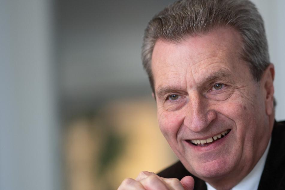 Ex-EU-Kommissar Oettinger zieht in Herrenknecht-Aufsichtsrat ein