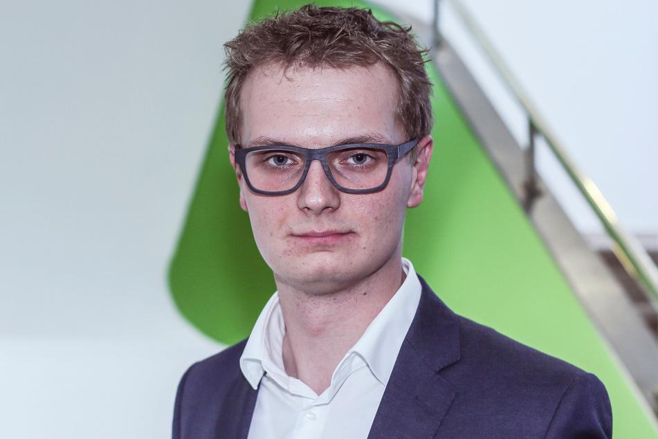 Innenpolitiker Valentin Lippmann (30, Grüne) fordert besseren Schutz für Hinweisgeber.