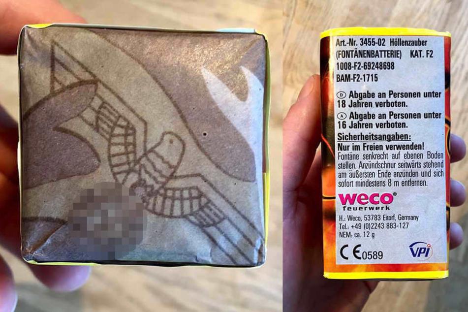 Feuerwerk-Firma verkauft Böller mit Nazi-Symbolen