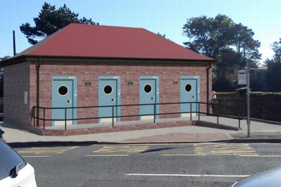 Sex auf einer öffentlichen Toilette? Das soll in Porthcawl bald nicht mehr möglich sein.