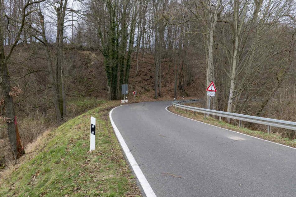 Auf der Landstraße in Richtung Schweizerthal flog der Toyota aus der Kurve und prallte gegen einen Baum.