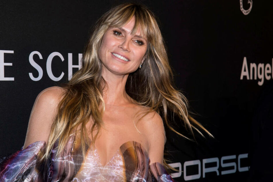 """Heidi Klum (46) beim """"Angel Ball"""" zu wohltätigen Zwecken"""