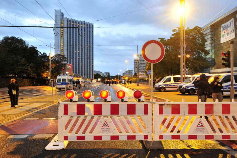 Sperrungen, Gedenken und Demos: Hier wird es heute eng in Chemnitz