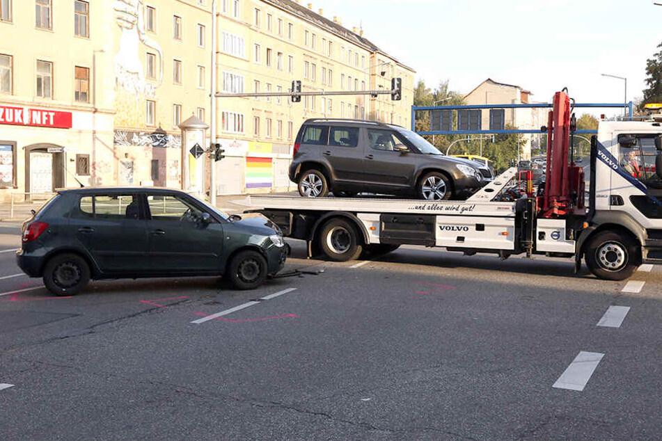Die Unfallstelle konnte schnell beräumt werden.