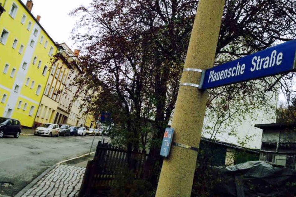 In der Plauenschen Straße in Gera ereignete sich das schreckliche Verbrechen.