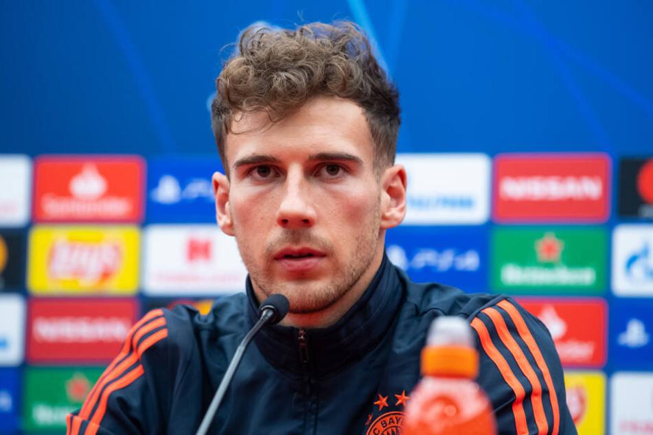 Fußballer Leon Goretzka (25) sorgte sich um die politische Lage in der Gesellschaft.