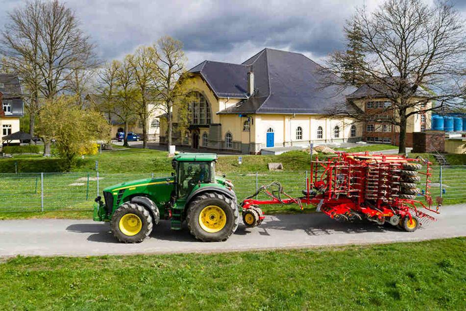 Dort wo das Leipziger Trinkwasser gewonnen wird, kommt kein Dünger oder Pflanzenschutzmittel zum Einsatz.