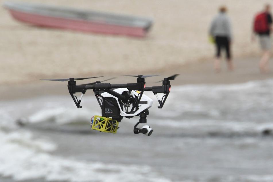 Die Drohnen können bis zu 85 Kilometer pro Stunde schnell fliegen.