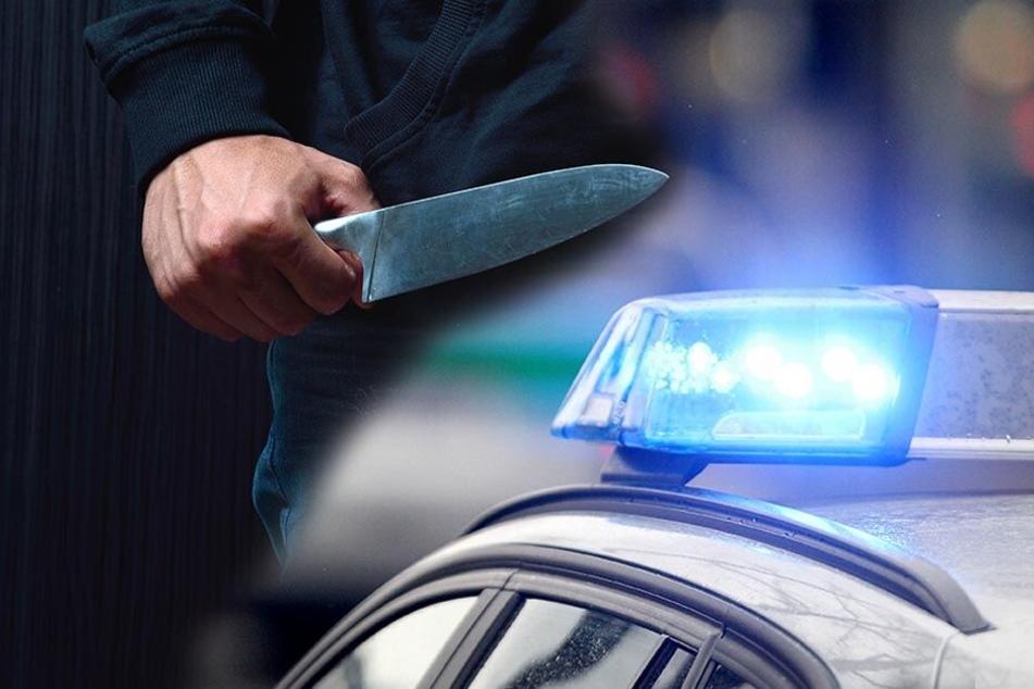 Der 20-Jährige wurde mit einem Messer bedroht und ausgeraubt. (Symbolbild)