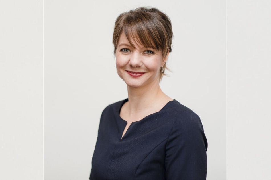 Karoline Marschallek (39) vom Schutzverband Dresdner Stollen bereitet schon die Suche nach dem nächsten Stollenmädchen vor.
