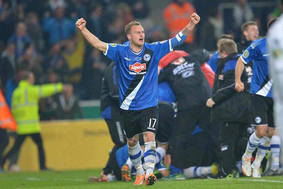 In der Saison 2014/15 gelang dem DSC gegen Borussia Mönchengladbach der Einzug ins Halbfinale.