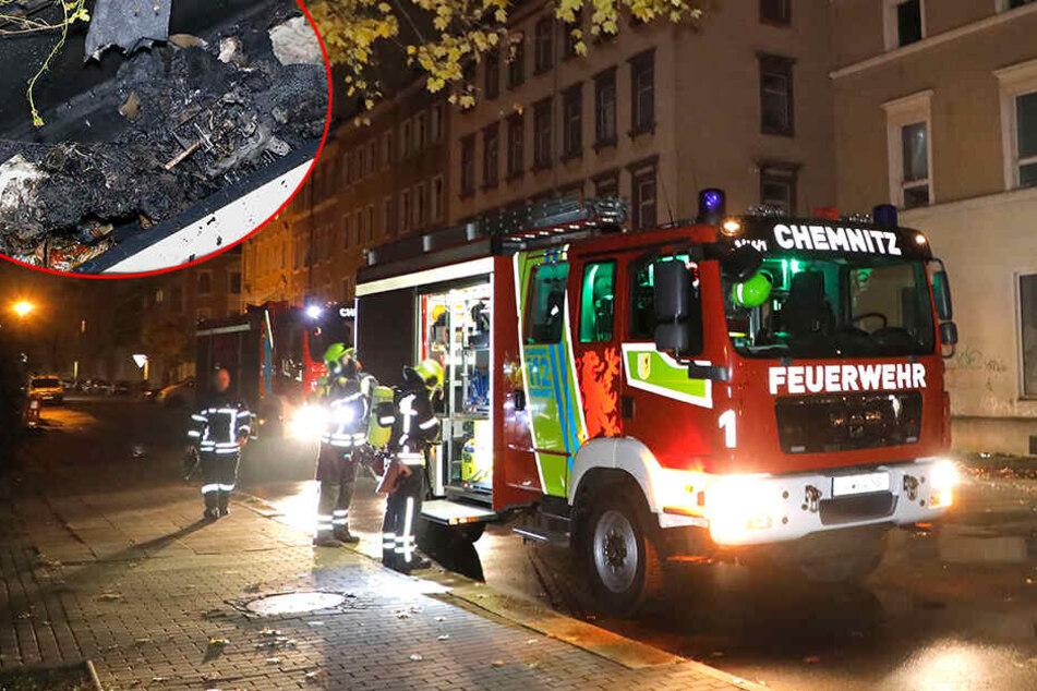 Brand in Abbruchhaus: Mann kommt verletzt ins Krankenhaus