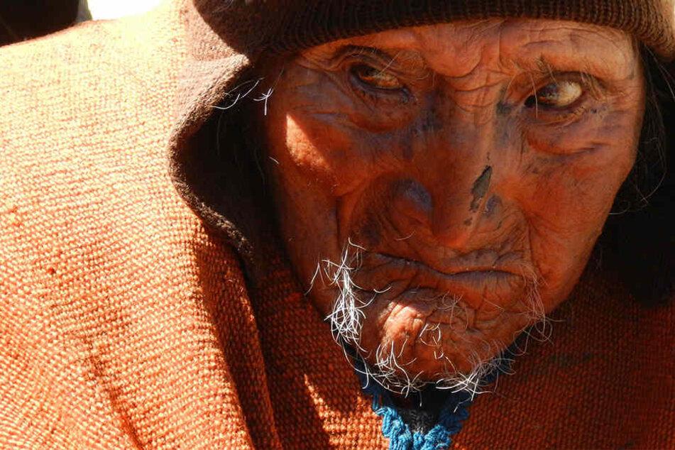 Carmelo Flores lebte in einem Bergdorf in Bolivien. Er soll mit 123 Jahren der älteste Mensch der Welt gewesen sein.