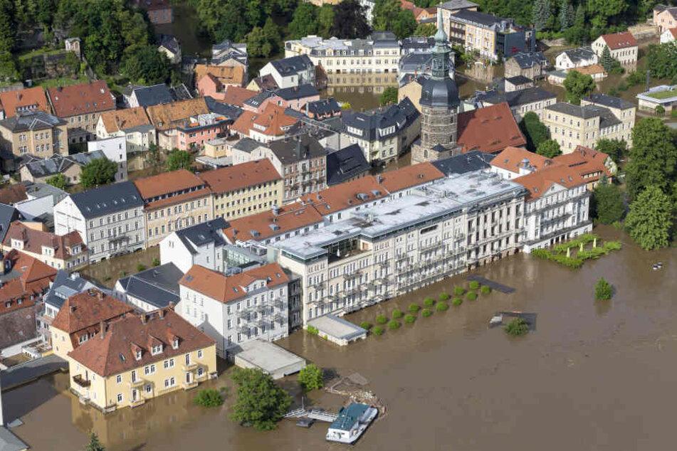 Bad Schandau im Juni 2013.