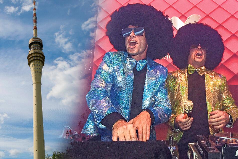 Party auf dem Fernsehturm: Disco Dice legt ganz weit oben auf