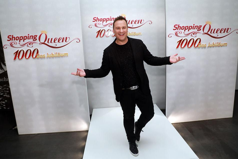 Am 7. Oktober 2016 feierte Moderator und Stardesigner Guido Maria Kretschmer in Berlin die 1000. Shopping-Queen-Folge.