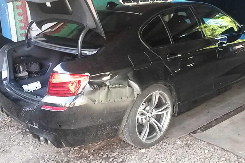 Ein vermeintlich gestohlener BMW 5 wurde in Polen entdeckt.