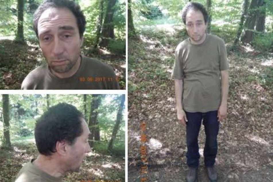 Mit diesen Bildern sucht die Polizei nach dem mutmaßlichen Täter.