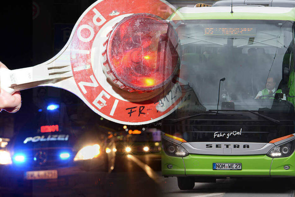 Polizisten haben einen alkoholisierten Busfahrer an seiner Weiterfahrt gehindert. (Symbolbild)