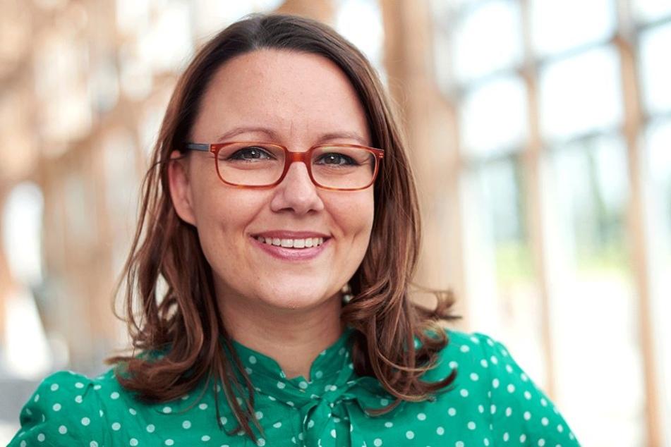 Die Bundestagsabgeordnete Michelle Müntefering (36).